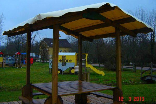 Desmazes - Réalisation de toit de terrasse sur mesure en bâche