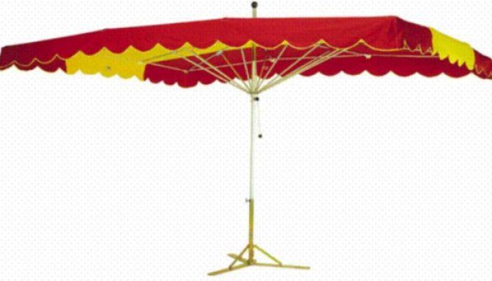 Fabrication de parasol pour stand toutes tailles et matériel de marché