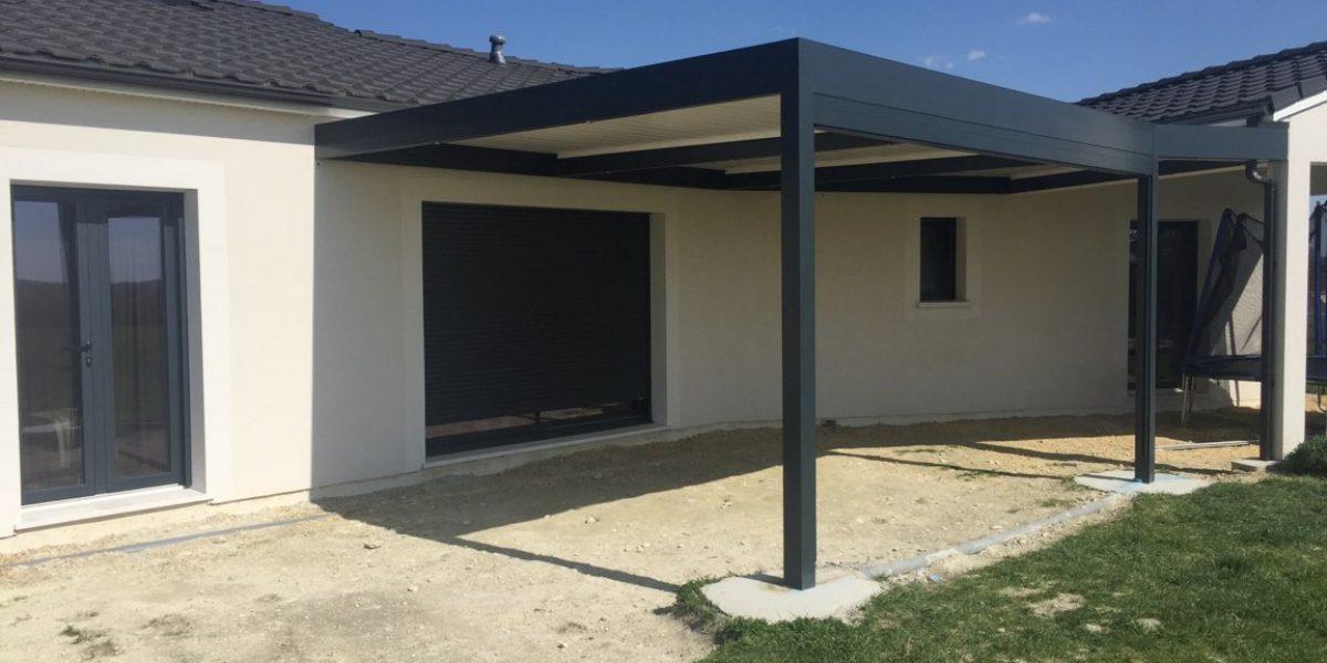 Desmazes Thiviers - Fabrication de pergolas solisysteme sur mesure pour protéger votre terrasse