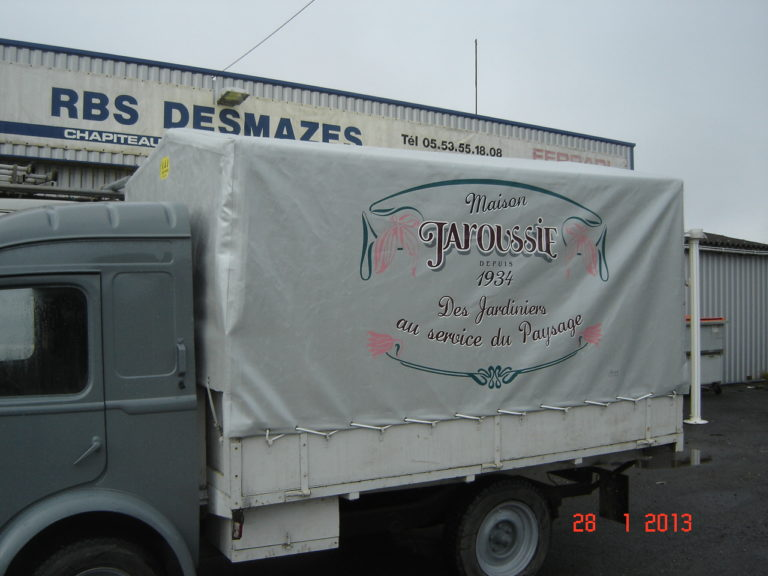 Bâche camion Desmazes