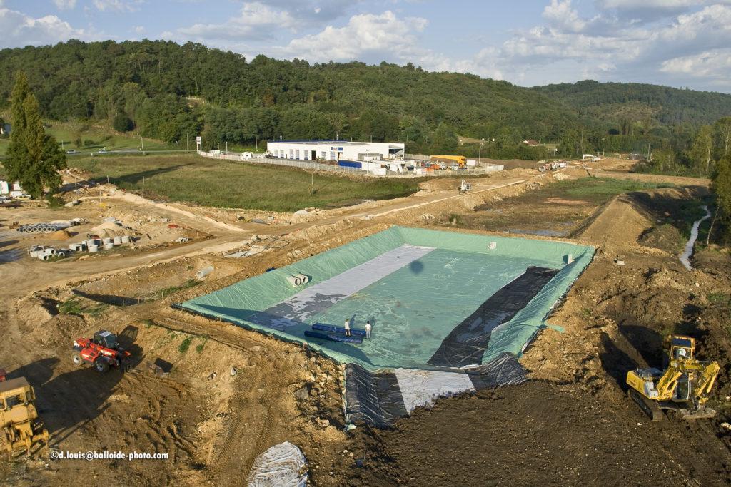 Fabrication de bassin en géomembrane en Dordogne