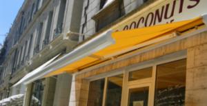 Vente et installation de stores extérieur pour magasin en Dordogne