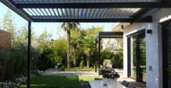 Desmazes Thiviers - Fabrication et pose de pergola bioclimatioque solisysteme pour protéger les terrasses - particuliers et professionnels