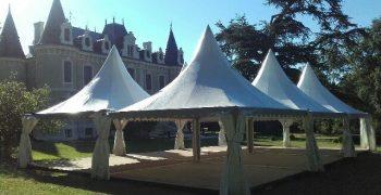 Desmazes Thiviers - Location de chapiteau pour tout évènement (mariage, baptême, anniversaire...) en Dordogne