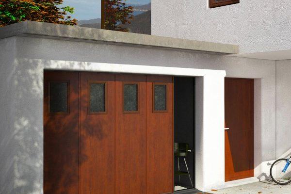 Porte de garage Creyssac Desmazes